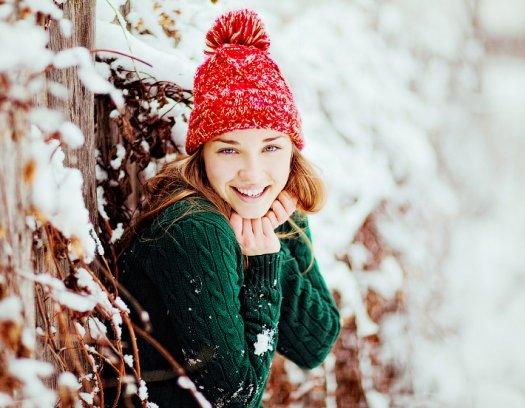 Идеи для девушкам зимой