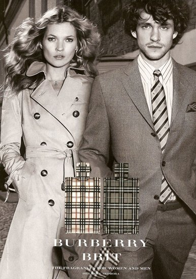 Кейт Мосс в рекламе Burberry a4db48cfedc