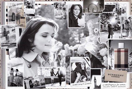 Рэйчел Уайз в рекламе парфюма Burberry London 43827c88387