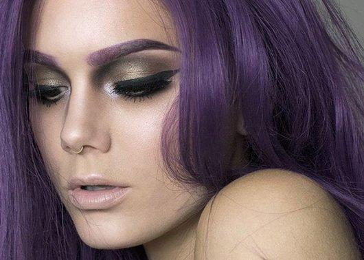 Цвет бровей для рыжих волос
